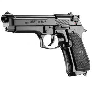 Pistolet 9 mm à blanc Miami 92 F noir