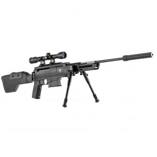 Carabine à air comprimé Black Ops type sniper cal. 4,5 mm