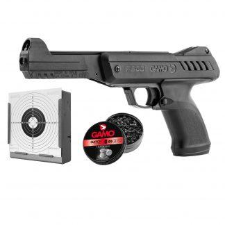 Pistolet GAMO P900 Gunset noir cal. 4,5 mm
