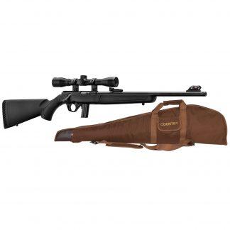 Pack carabine Mossberg Plinkster synthétique cal. 22 LR