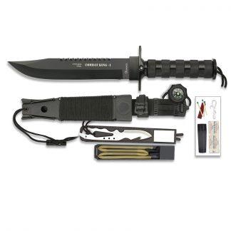 Couteau lame fixe tactique Albainox - Combat King 1