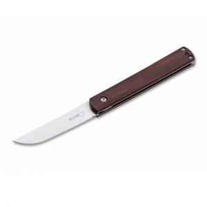 Couteau pliant Böker Plus - Wasabi Cocobolo