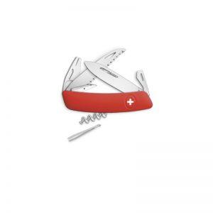 Couteau multi-fonctions Swiza - TT05 rouge