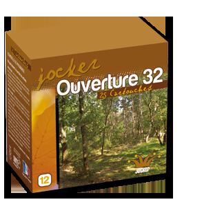 Cartouches Jocker Ouverture 32 cal.12 x25