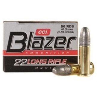 Cartouches C.C.I. .22 L.R. Blazer x50