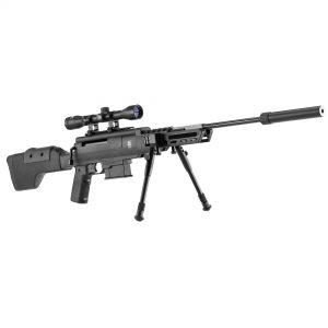 Carabine à air comprimé Black Ops sniper cal. 4,5 mm 16J