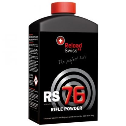 Poudre de rechargement Reload Swiss RS76 x1kg