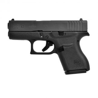Pistolet semi-automatique 9×19 Glock 43, série Slimlime