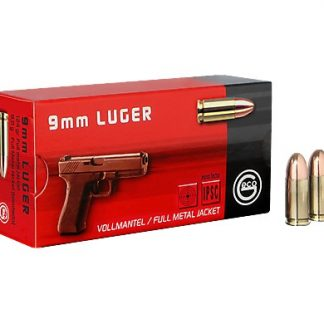 Cartouches Geco Cal. 9mm Para 124-Grs FMJ x50