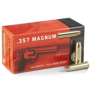 Cartouches Geco .357 Magnum 158-Grs FMJ x50