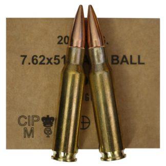Munitions .308 Win FMJ 147gr GGG x640 + caisse étanche