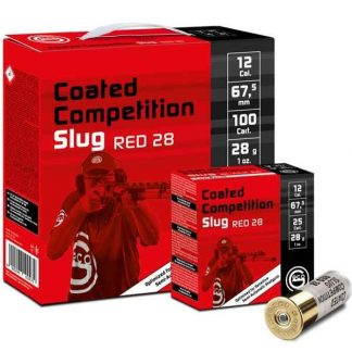 Slugs Geco Competition Red 28g cal. 12/67 x25