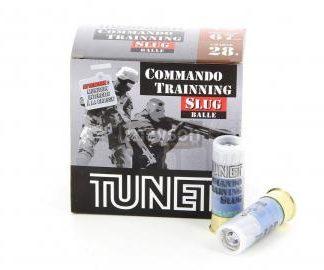 Cartouches TUNET Commando Training Slug cal. 12/67 x25