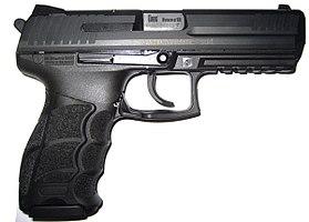 Pistolet semi-automatique 9x19 HK P30