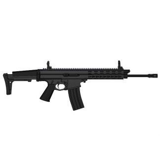 Carabine semi-automatique Robinson Armament XCR-L Standard, canon de 14,7'', Noir cal .223