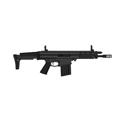 Carabine semi-automatique Robinson Armament XCR-M Micro, canon de 9,5'', Noir cal .223