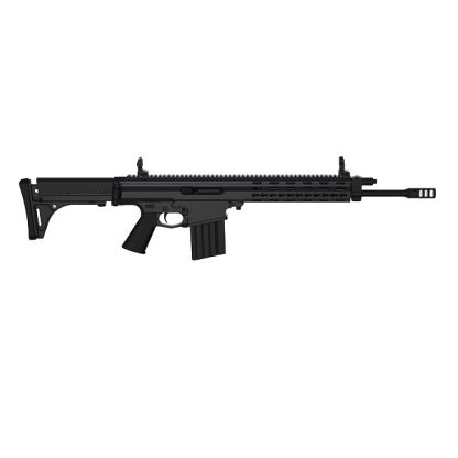 Carabine semi-automatique Robinson Armament XCR-M Standard, canon de 16'', Noir cal .223