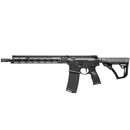 """Carabine Daniel Defense M4 SLW noire 14.5"""" 5.56 (Livré sans poignée avant)"""